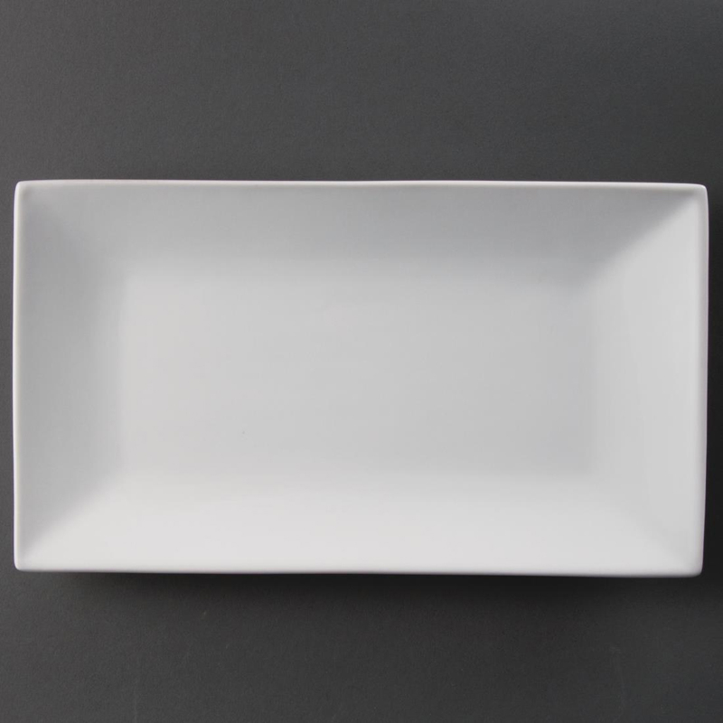 Olympia Serving Rectangular Platters 310mm (Pack of 2)