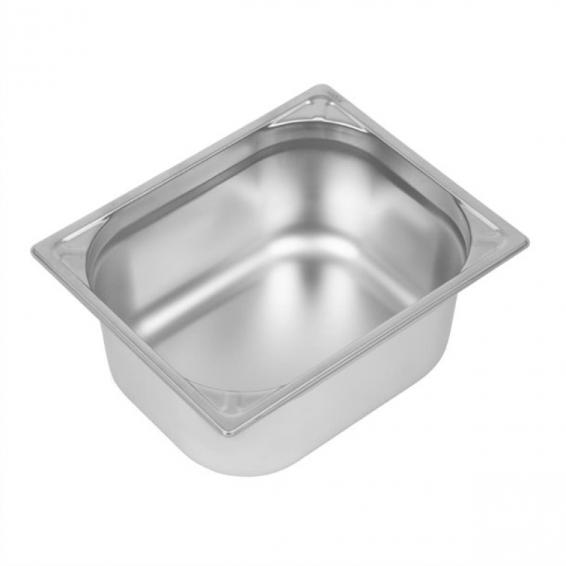Vogue Heavy Duty Stainless Steel 1/2 Gastronorm Pan 150mm