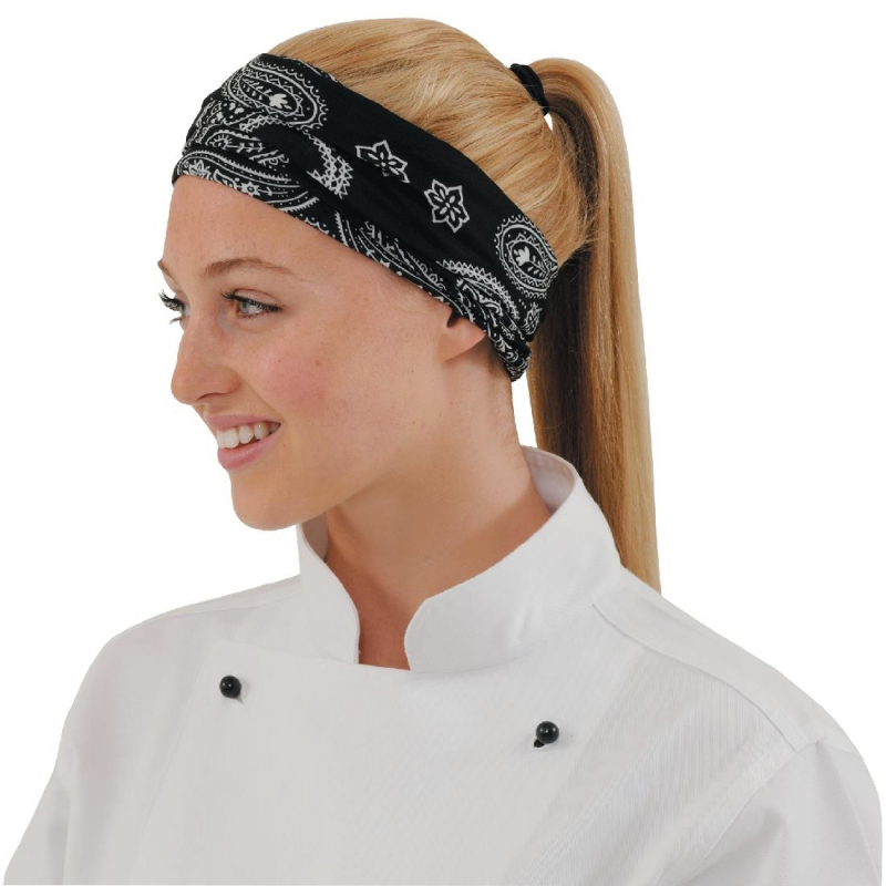 Buff Headwear Cashmere Black Pattern